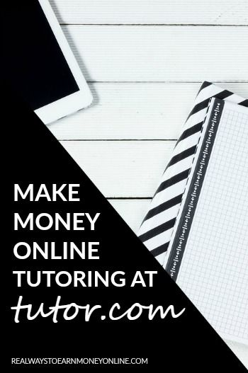How to make money online as a tutor for Tutor.com.