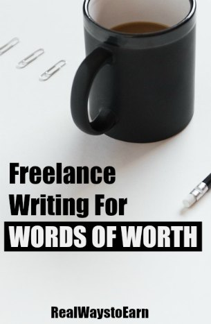 Words of Worth is a site that will pay you to create content. They regularly look for writers living in the US, UK, and other countries.