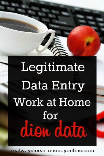 Now Hiring! Dion Data – A Legit Data Entry Company