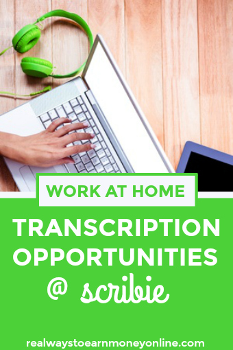 scribie work from home transcription for beginners