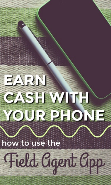 Earn $2 to $12 per short task you complete with the Field Agent app. Currently available to both iPhone and Android users.