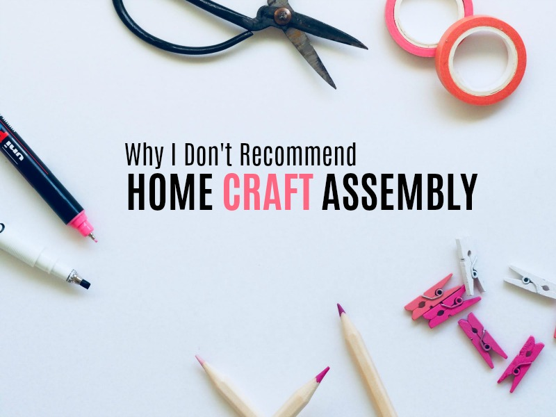 Why I Don T Recommend Work At Home Assembly Jobs