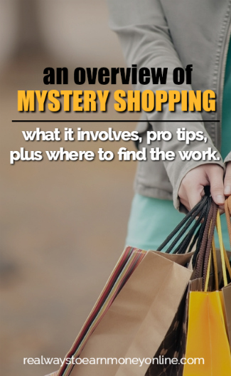 An overview of mystery shopping jobs. Where to find the work, what it pays, and some pro tips!