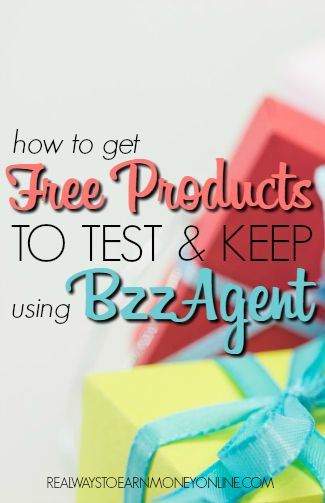 Want to try product testing? BzzAgent offers a way for you to get free products to test and keep, and all you have to do is just spread the word about them.