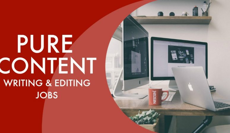 Freelance Writing and Editing Work at Pure Content
