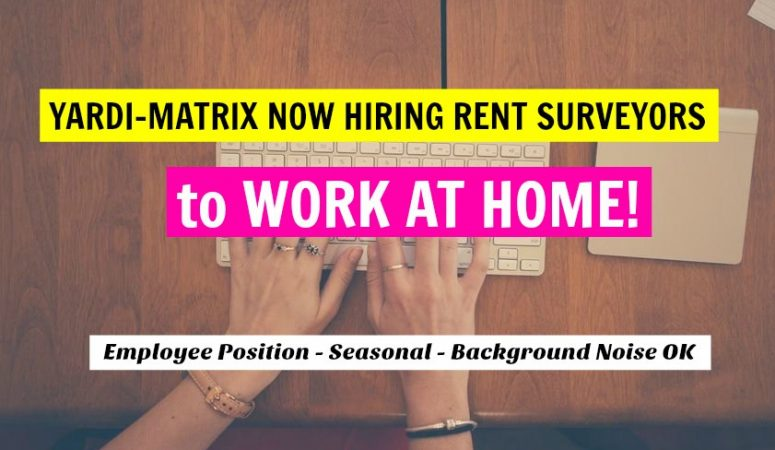 Get Paid to Do Rent Surveys From Home For Yardi Matrix