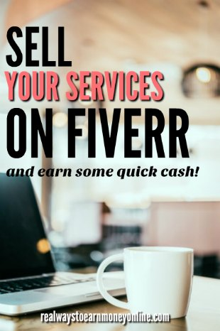How you can make money on Fiverr and earn some quick cash. Open worldwide.