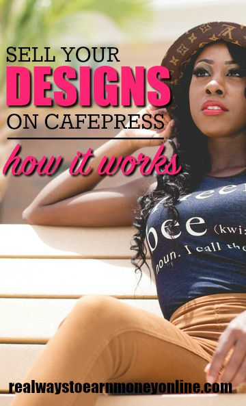 Set up a shop and make money off your designs with CafePress. Here are some details on how it works for sellers.