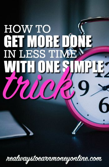 Use this very popular time management technique to get way more done in less time while you work from home!