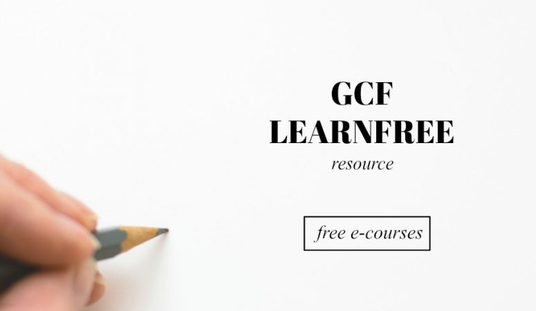 Learn Something New For FREE at GCF LearnFree