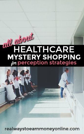 All about healthcare mystery shopping for Perception Strategies.