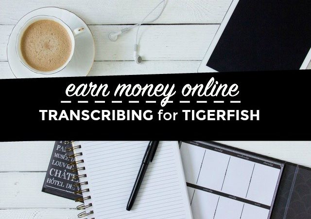 Transcription for Beginners – Tigerfish