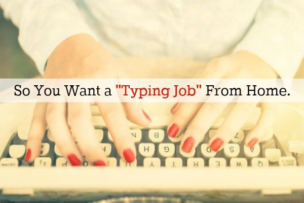 Thesis typing jobs