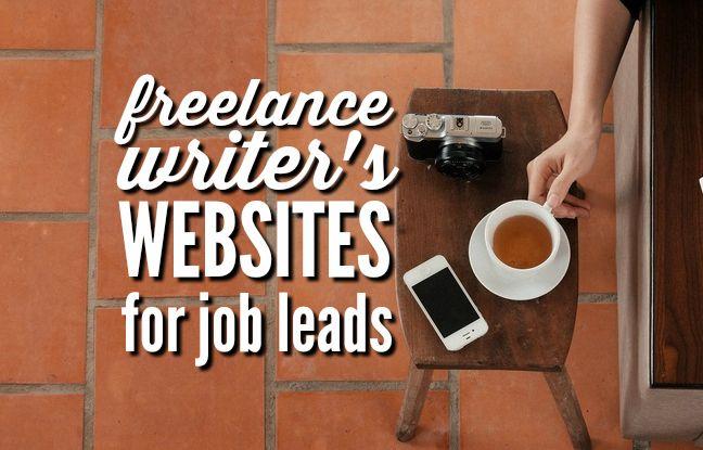 Freelance Writer's Websites for Job Leads