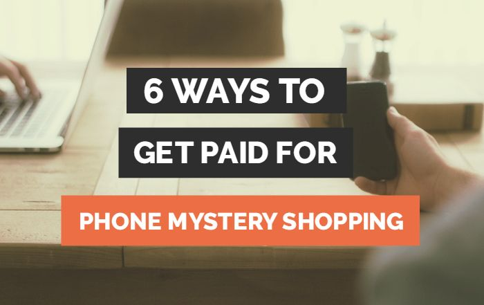 Telephone Mystery Shopper Jobs – 6 Companies to Join Today
