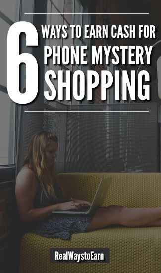 You can become a telephone mystery shopper, a legitimate and easy way to earn money from home. Here's a list of six companies that are often looking for phone shoppers.