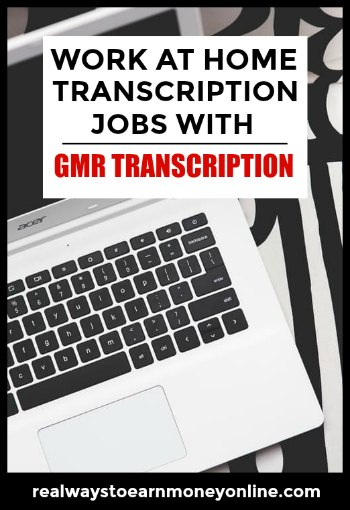 Work at home transcription jobs with GMR Transcription.