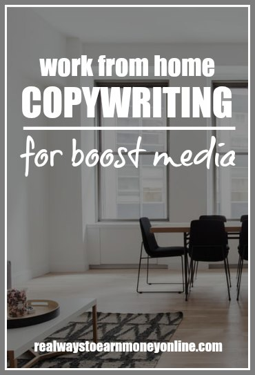 Boost Media has copywriting contests you can join to win money and get paid weekly.
