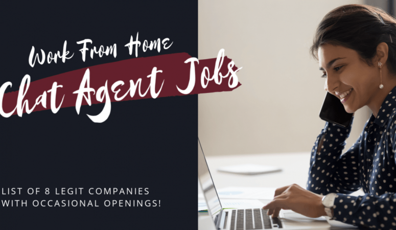 Chat Jobs From Home – 8 Companies To Check For Openings