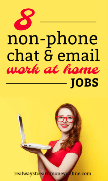 Work at home chat jobs to apply for today