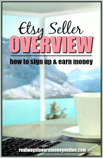 An Etsy seller overview. Explaining exactly how to sign up and earn money selling your crafts.