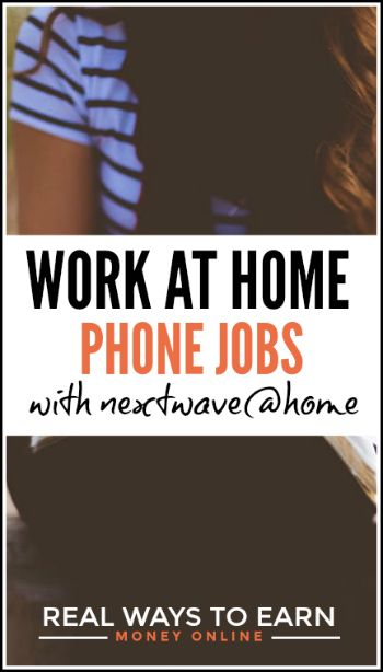 Next Wave Advocacy - work at home phone jobs, pays weekly.