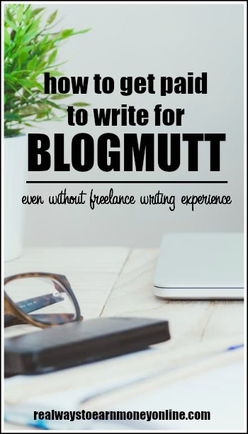 What is blogmutt.com? A way to get paid to write online, even if you're a beginner.