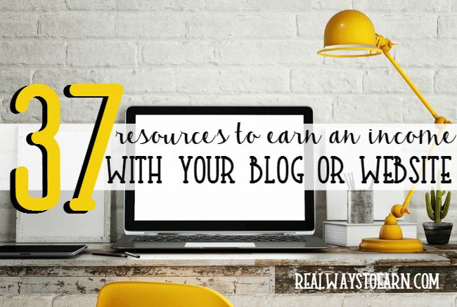 Over 30 Ways to Earn Money With Your Blog