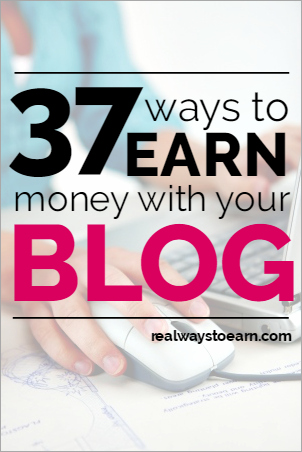 Huge list of more than 30 ways you can earn money with your blog. It's all broken down by category so you can easily browse the different types of blog money-making ideas.