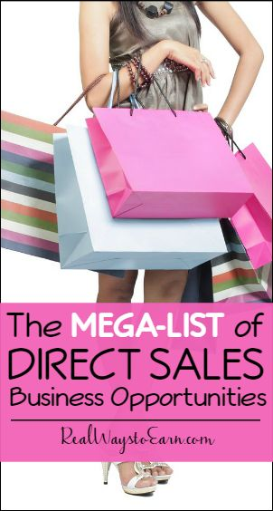 Interested in direct sales companies? You can get involved in direct sales and sell products that others already love. Check this list for many different companies to consider signing on with.