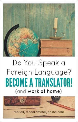 Become a work from home translator! Do you know a foreign language? Do you also want to work at home? Then translation might be a great career path for you. This post has details on many companies that are on the lookout for remote translators.