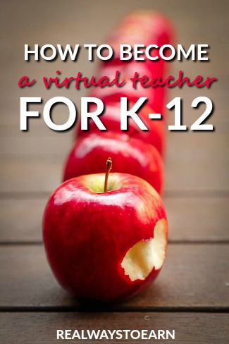 Do you have teaching experience? This post shows you how to get started applying as a virtual teacher who works from home for K-12.