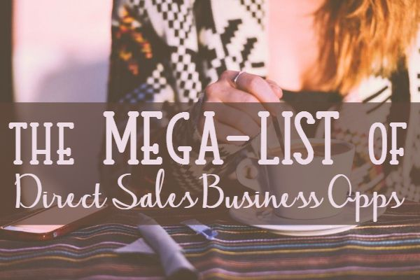 The Mega-List of Direct Sales Companies