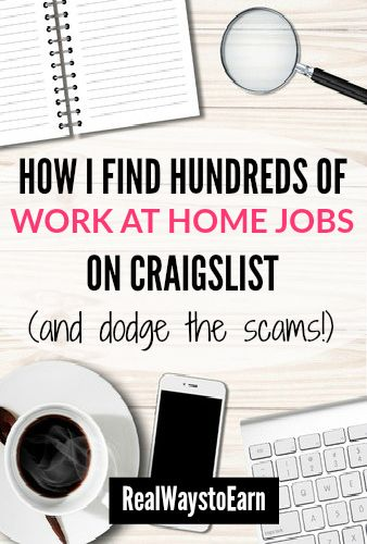 10 Tips For Researching Craigslist Work From Home Jobs