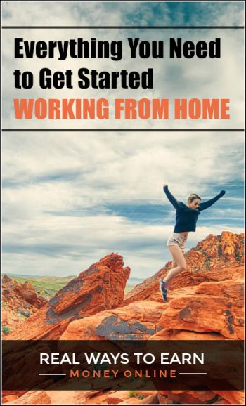 Everything you need to find legit online jobs and get started working from home!