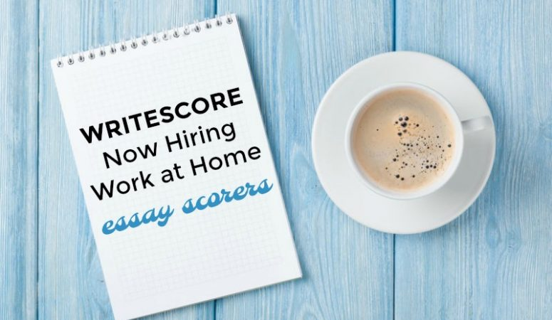 Work at Home Scoring Student Essays For Write Score
