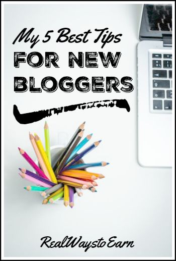 5 best blogging tips for new bloggers.