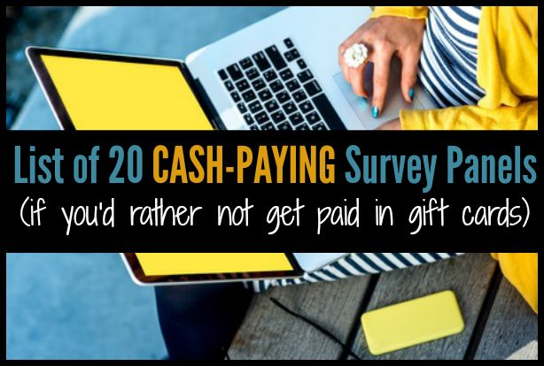 20 Ways to Take Online Surveys For Money