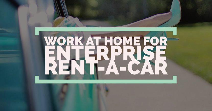 working at home for enterprise rent a car. Black Bedroom Furniture Sets. Home Design Ideas