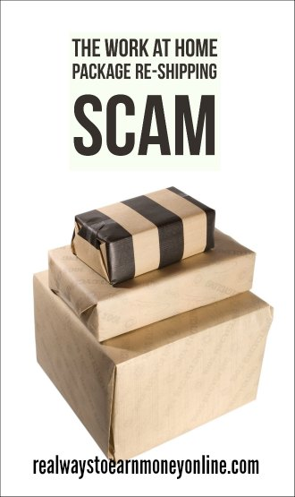 Watch out for the work at home package re-shipping scam!
