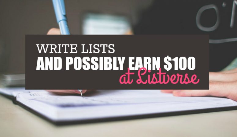 High-Pay Writing – $100 for Lists at Listverse