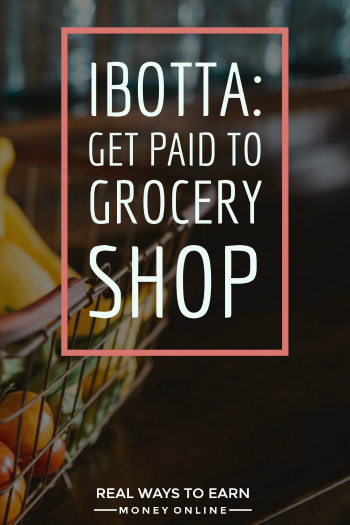 Ibotta review - how to get paid for grocery shopping (and save money) without using coupons.