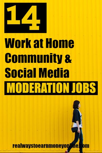 Ever wanted to be a work at home moderator? Here's a list of 14 companies that are often hiring work at home social media and community moderators.