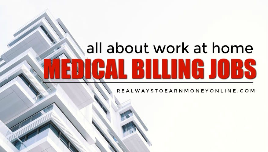 medical billing collections jobs from home options