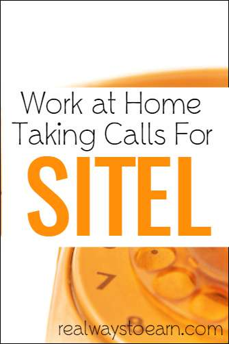 Sitel work at home jobs - benefits provided and hourly, bi-weekly pay!