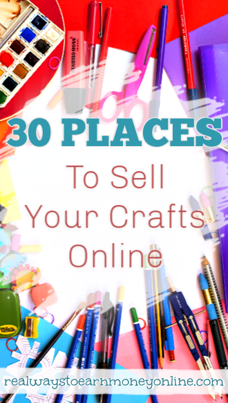 30 places to sell your crafts online.