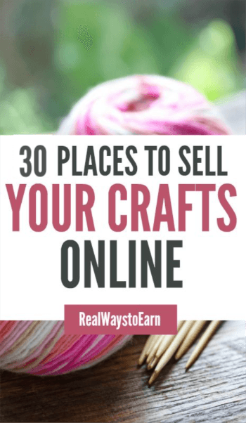 30 places to sell your crafts online