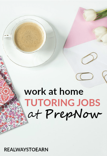 Work at home tutoring jobs for PrepNow. Open to US only.