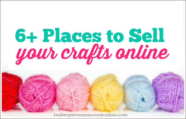 6 places to start selling crafts online for What to make and sell to make money