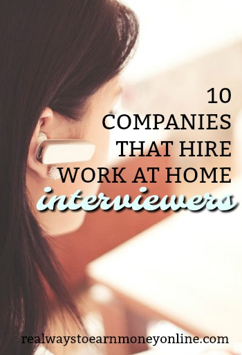 You actually can find work at home telephone survey jobs that are legitimate. The 10 companies in our list are almost always hiring.